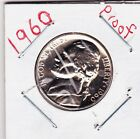 1960  JEFFERSON NICKEL IN PROOF CONDITION J100