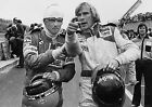 JAMES HUNT AND NIKI LAUDA 21 (FORMULA 1) PHOTO PRINT