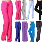 New Womens Elastic Cotton Spandex Yoga Running Sexy Gym Sports Athletic Pants