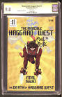 The Invincible Haggard West #1 CGC 9.8 SS Paul Pope First Battling Boy NM / NM+