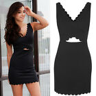 Women Summer New Casual Slim Sleeveless Party Evening Cocktail Sexy Mini Dress