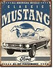 Ford Classic Mustang Metal Sign  410mm x 320mm   (sf)    FAST dispatch from UK