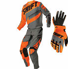 2016 Shift MX Youth Assault Gearset - Orange Motocross Kit Offroad Peewee