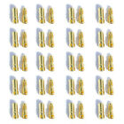 20 Pairs 3.5mm 2mm Metal Bullet Banana Plug Connector for RC Battery ESC Motor
