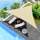 24' x 24' x 24' Triangle Sun Shade Sail Fabric Outdoor Patio Canopy Cover Awning