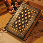 Classic Vintage Journal Diary Notebook Blank Paper Hard Cover Retro Memo Notepad