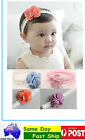 Floral Cotton Headbands Hair Accessories Band Toddlers Baby Children girls