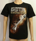 Led Zeppelin - The Song Remains The Same New Metal Rock Black Printed T-Shirt