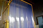 PVC Door Strip Curtain Clear Flexible All Colours and Sizes High Quality Safety