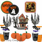 Stylish Design HALLOWEEN PARTY TABLEWARE Plates Cups Tablecovers Napkins & More