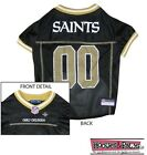 NEW ORLEANS SAINTS NFL Mesh Pet Dog Jersey Game All Sizes XS XXL Football Gear