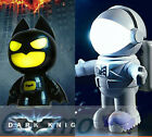 USB Portable Laptop LED Superhero Batman Astronaut Night Light Emergency Desktop