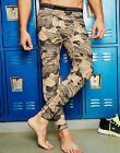 Duofold by Champion THERMatrix™ Mens Printed Thermal Pants Wood Camo S -2XL Best
