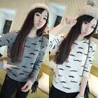 Women casual slim fitted Hoodie Sweatshirt Coat Tops shirt Outerwear pullover