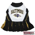 BALTIMORE RAVENS NFL Dog CHEERLEADER Pets Outfit Dress All Sizes XS - M Game