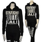So Cute Straight Outta Cali Zip UP Hoodie Sweater,Pockets & Cotton S to 3XL