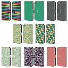 HEAD CASE DESIGNS LEAF PATTERNS 2 LEATHER BOOK WALLET CASE FOR APPLE iPOD TOUCH