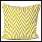 mustard coloured cushions