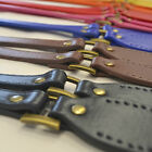 Bag Handle - Hinged Faux Leather Sew On PAIR Lots of Colours! Craft Making Sew