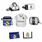Official Real Madrid Football White Backpack / Wallet / Gym / Shoe / Lunch Bag