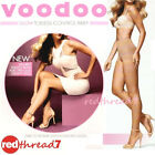 Voodoo Sexy Glow Toeless Control Brief Pantyhose Stockings Size Ave Tall Xtall