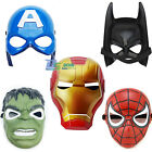 Children's Kids Superhero Avenger Masks Costume Halloween Party Mask Toy Cosplay