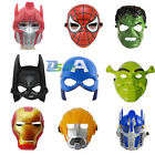 Kids Child Superhero Shrek Transforms Costume Halloween Party Toy Cosplay Masks