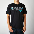 Fox Racing Mens Black Engine Eruption Short Sleeve T-Shirt Tee Shirt