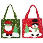 New Santa Claus Gift Bags Merry Christmas Kids Candy Cookie Cake Storage Bags