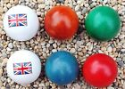 4 Lazure Coches with 2 Flag Coches for Petanque/Boules **9 sets to choose from**