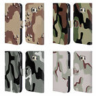 HEAD CASE MILITARY CAMO LEATHER BOOK WALLET CASE COVER FOR SAMSUNG PHONES 1