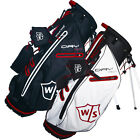 2015 Wilson DryTech Lightweight Stand Bag Mens Golf Carry Bag 5-Way Divider