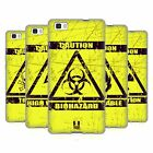 HEAD CASE HAZARD SYMBOLS SOFT GEL CASE FOR HUAWEI P8LITE