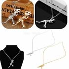 Retro Vintage Fashion Dinosaur Skeleton Necklace Chain Men Women Couple Gift