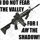 """I AM THE SHADOW"" T-Shirt-SIZE LARGE - AR15 AR10 M4 M16 5.56 2.23 2nd Amendment"