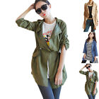 Fashion Women's Slim Long Coat Jacket Trench Windbreaker Parka Outwear Hot Sale