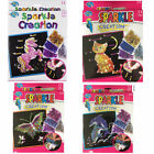 Fun Sequins Sparkle Art Kids Craft Girl's Creative Activity Kit Creation Unicorn