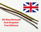 5mm ROUND COLOURED STRIPE CORD SHOE LACES BOOT LACES HIKING 3 COLOURS 2 LENGTHS