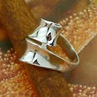STERLING SILVER OVERLAY RING SOLID.925 /NEW JEWELERY SIZE J - U