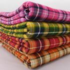 Suntone Tartan Check Medium Weight 100% Cotton Fabric per metre