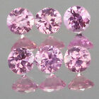 1.5mm Lot 6,10,20,50,100pc Round Cut Calibrated Size Stone Natural Pink SAPPHIRE