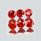 2mm Lot 6,10,20,50pcs Round Cut Accent Stone Natural Red SAPPHIRE