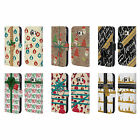 HEAD CASE DESIGNS CHRISTMAS GIFTS LEATHER BOOK WALLET CASE FOR SAMSUNG PHONES 1