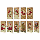 HEAD CASE DESIGNS CHRISTMAS CLASSICS LEATHER BOOK CASE FOR SAMSUNG PHONES 2