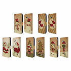 HEAD CASE CHRISTMAS CLASSICS LEATHER BOOK WALLET CASE FOR MICROSOFT NOKIA PHONES