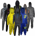 Boys Kids Location Full Fleece Tracksuit Pant Hoodie Hoody Junior Size School