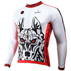 2015 Long Sleeve Shirt For Men Bike Clothing Clothes Ropa Cycling Jersey Wolf400