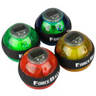 Gyroscope Power Force Ball LED Gyro Wrist Ball With Speed Meter Counter New