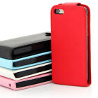 Magnetic Top Wallet Flip Book Leather ID Case Cover For Apple ipone 5 5s 6s 6