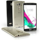Glossy TPU Gel Case Skin for LG G4 Beat H735 (G4s) Soft Cover + Screen Protector